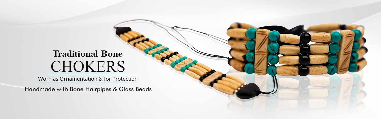 Traditional Bone Chokers