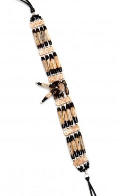 Buy 40576-black And Brown - Bone Chokers in US