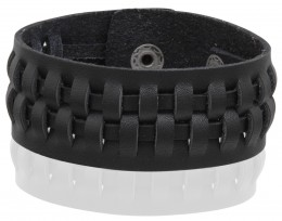 Buy 983 Leather Snap Bracelet in US