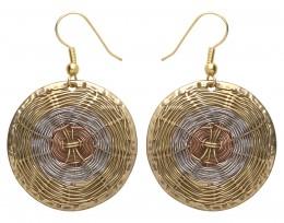 Buy Basket Weave Earrings in US