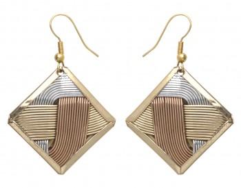 Basket Weave Earrings in US