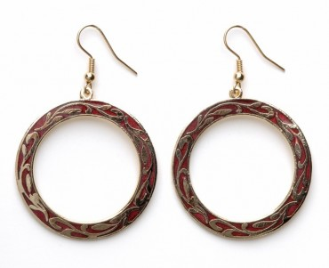 Cloisonne Earrings in US